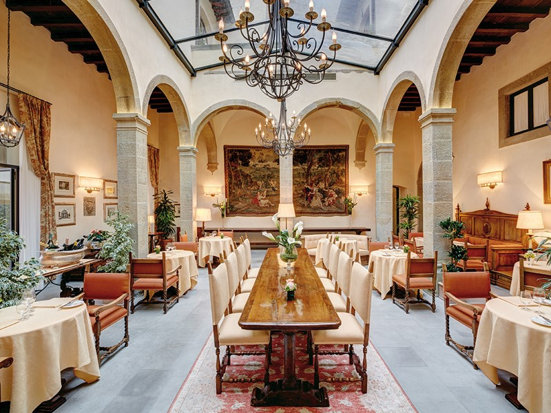 Le restaurant La Loggia du Belmond Villa San Michele