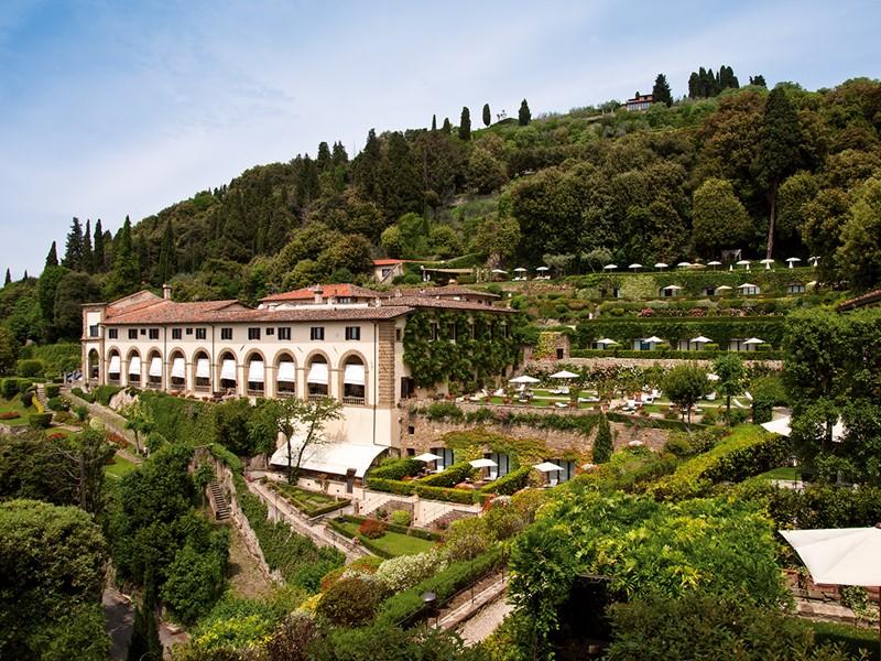 Superbe vue du Belmond Villa San Michele