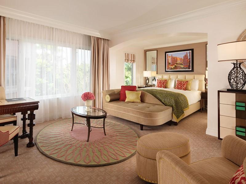 La chambre Deluxe de l'hôtel The Beverly Hills