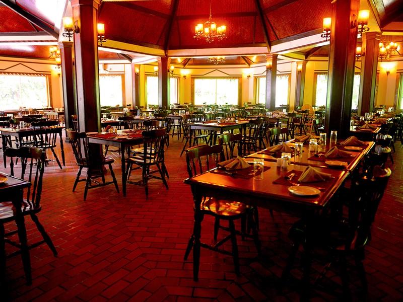Le restaurant Palm