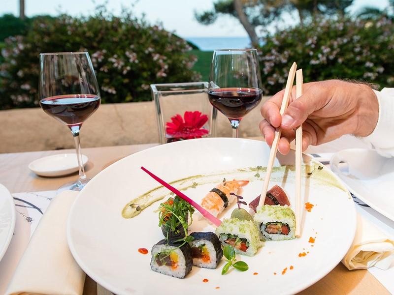Restaurant Midori de l'hôtel PuraVida aux Baléares