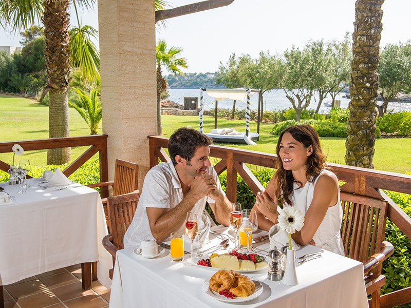 Restaurant La Finca du PuraVida Blau à Majorque