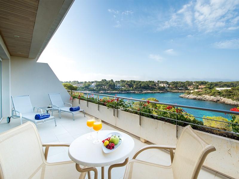 Suite de l'hôtel Blau Privilege PortoPetro à Majorque
