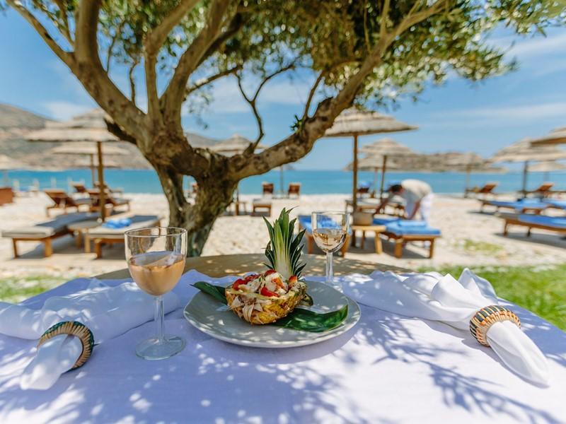 Dégustez une délicieuse cuisine méditerranéenne au Blue Palace