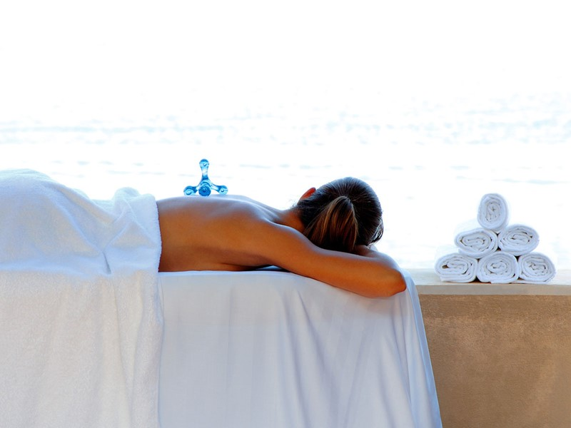 Soins relaxants et massages tonifiants au spa du Blue Palace