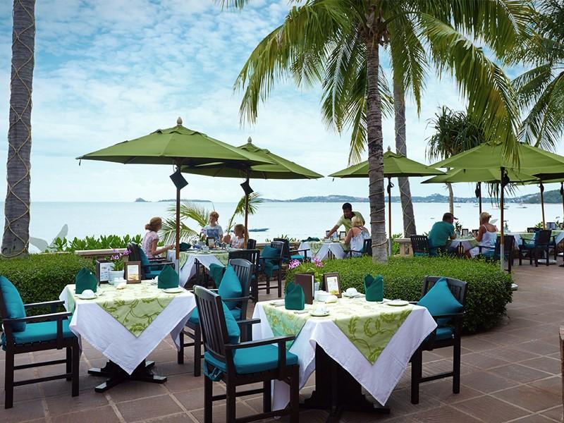 Restaurant L'Ocean de l'hôtel Bo Phut Resort & Spa en Thailande