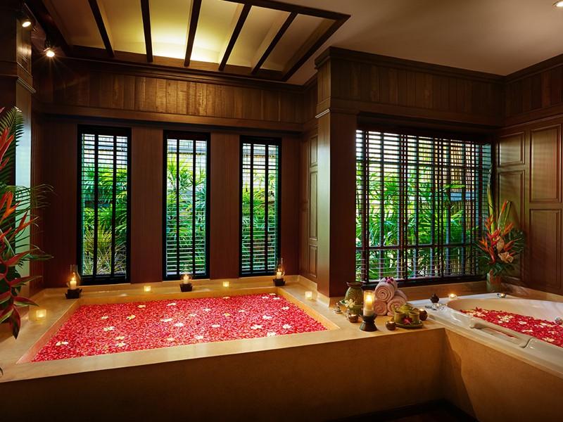 Le spa de l'hôtel 4 étoiles Bo Phut Resort à Koh Samui