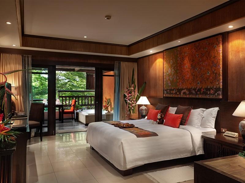 Deluxe Outdoor Jacuzzi du Bo Phut Resort à Koh Samui