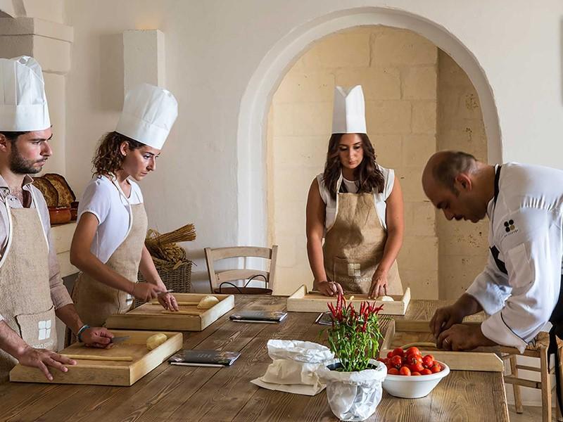 Un cours de cuisine à l'hôtel
