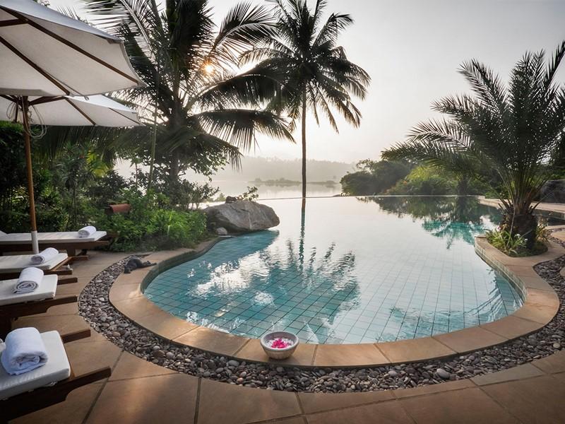 Autre vue de la piscine du Bougainvillea Retreat