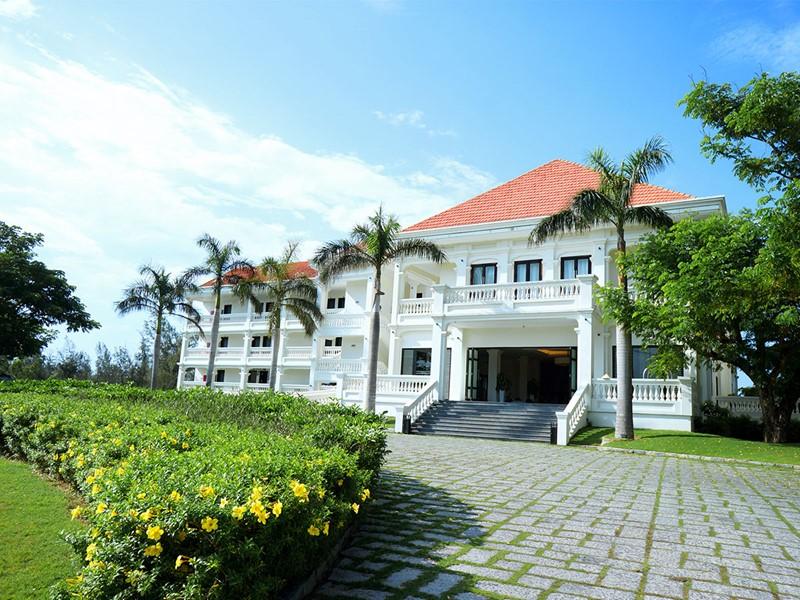 Vue de l'hôtel Boutique Hoi An Resort situé à Hoi An