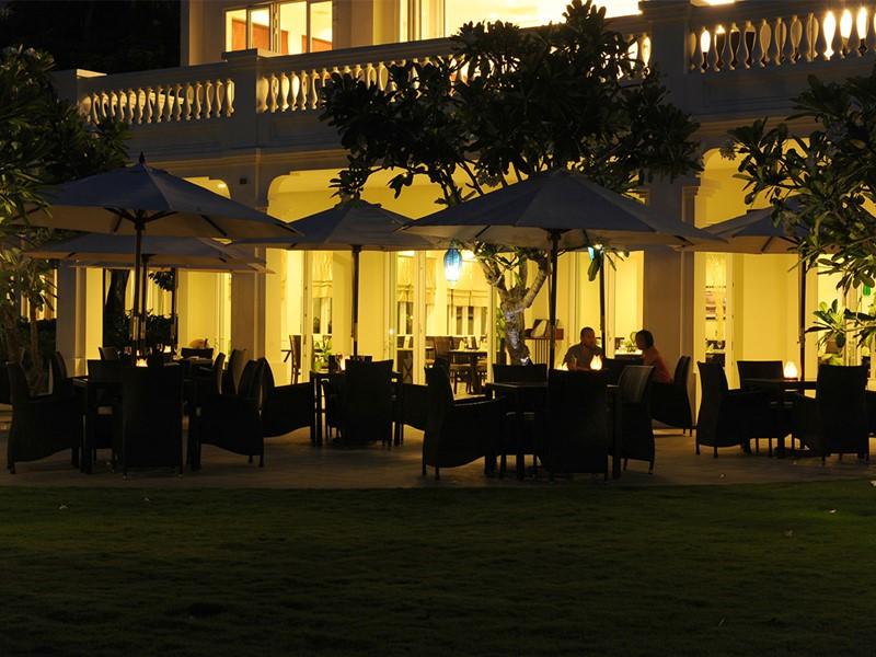 Autre vue du Café de l'hôtel Boutique Hoi An Resort à Hoi An