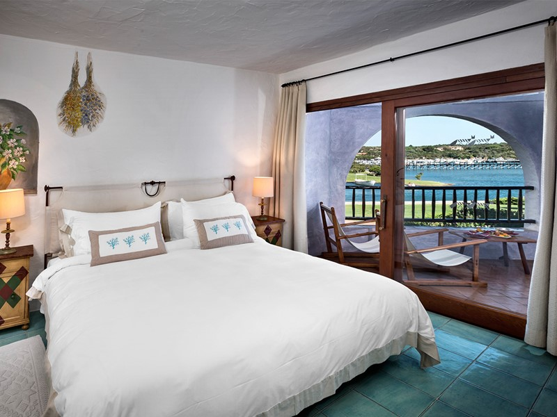Deluxe Suite de l'hôtel Cala di Volpe en Italie