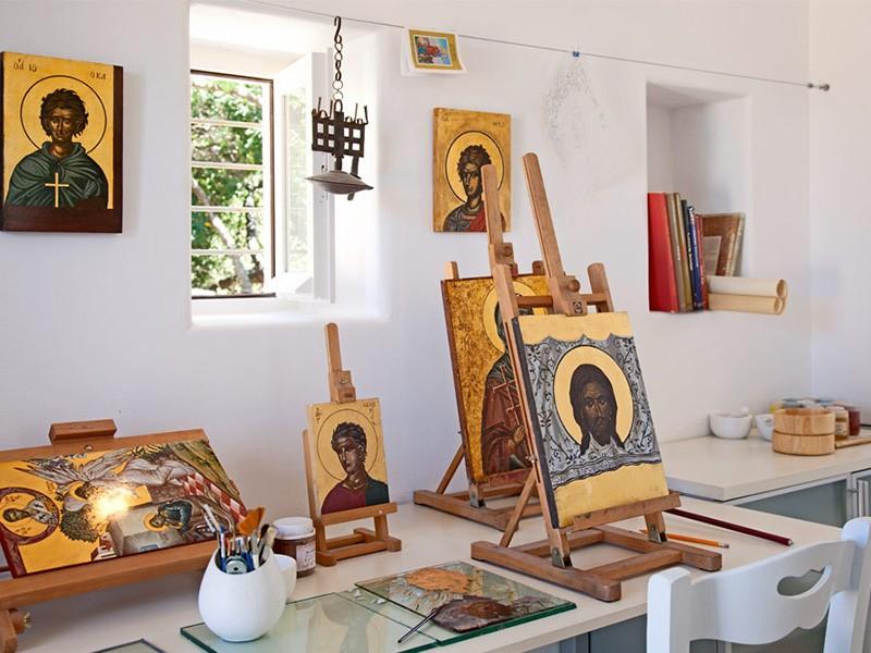 La galerie d'art