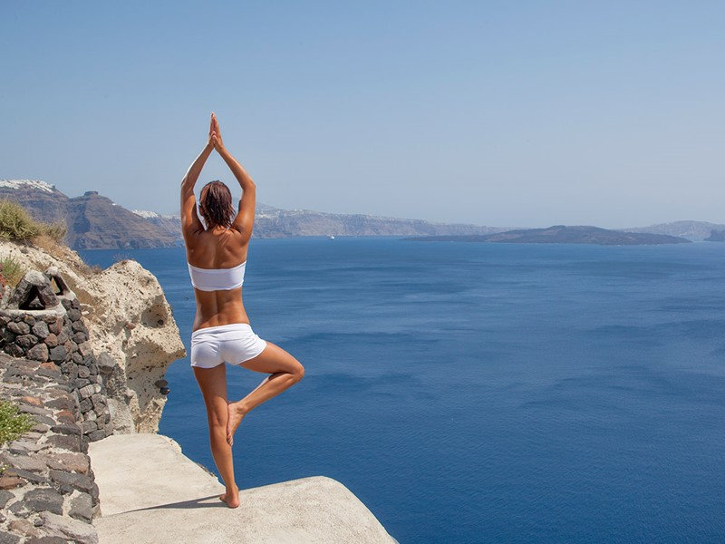 Yoga au Canaves Oia Suites