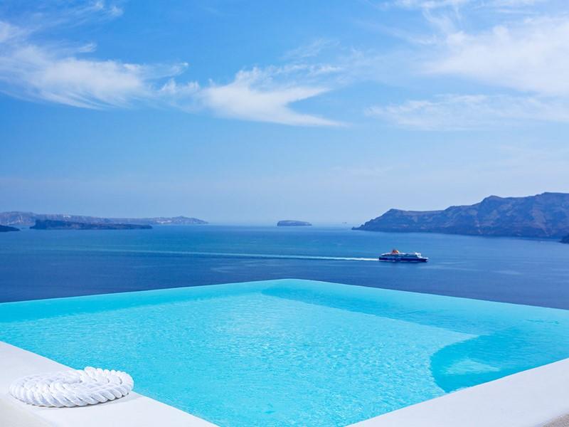 La piscine de la Suite Infinity Pool