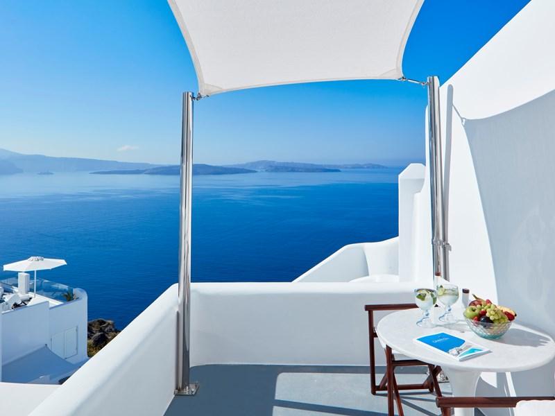La terrasse de la Grand Suite