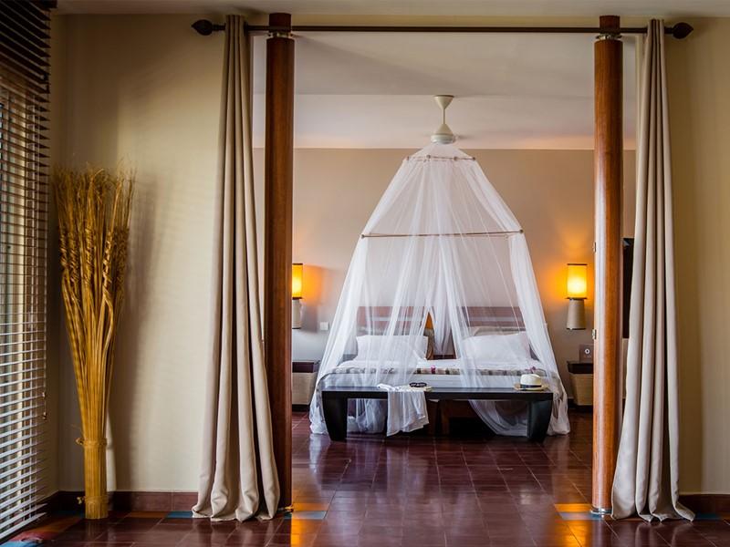 Suite Deluxe du Cap Est Lagoon Resort en Martinique