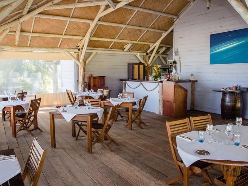 Le restaurant Le Belem de l'hôtel Cap Est Lagoon