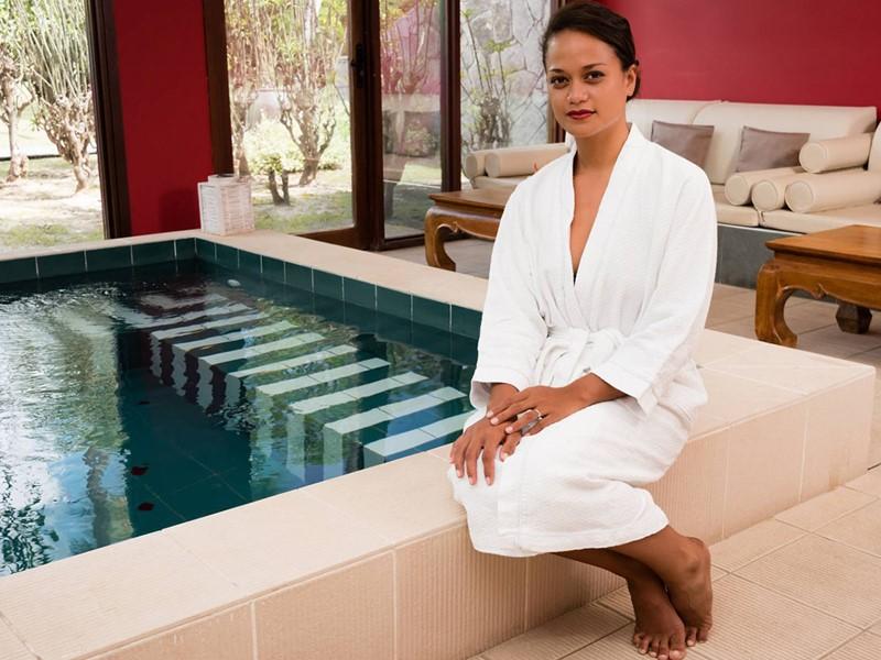 Hydrothérapie à l'hôtel Cap Est Lagoon aux Antilles