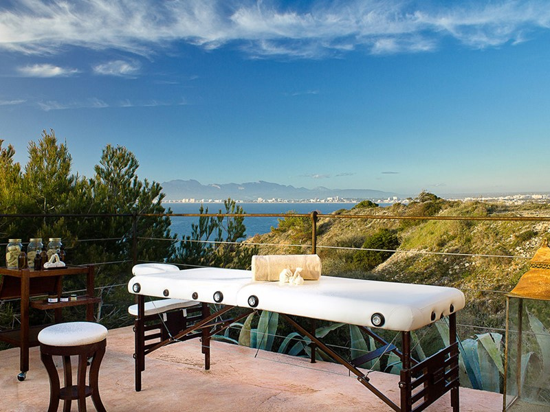 Le spa de l'hôtel 5 étoiles Cap Rocat à Majorque