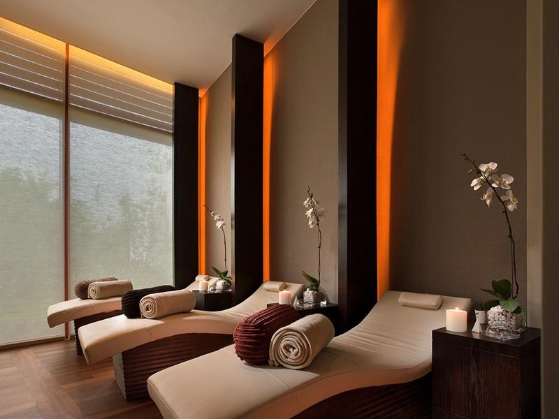 Le spa de l'hôtel 5 étoiles Capella Singapour
