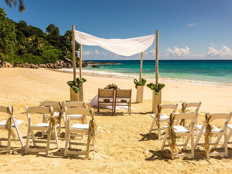 Mariage au Carana Beach Hotel sur l'île de Mahé