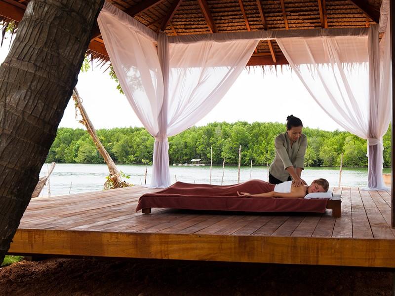 Le Spa de l'hôtel 5 étoiles Casa de La Flora à Khao Lak