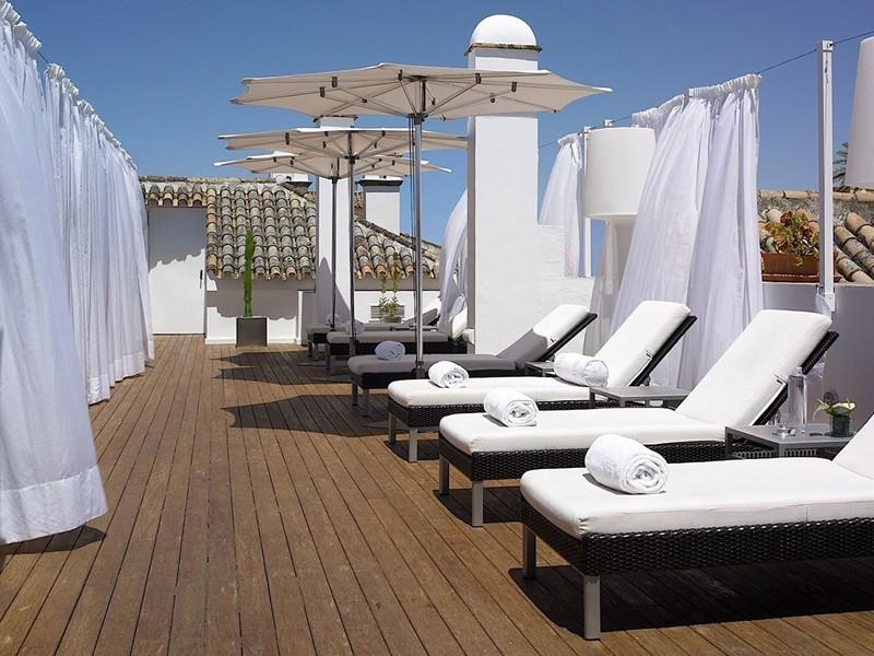 Le spa de l'hôtel Casas del Rey de Baeza à Séville