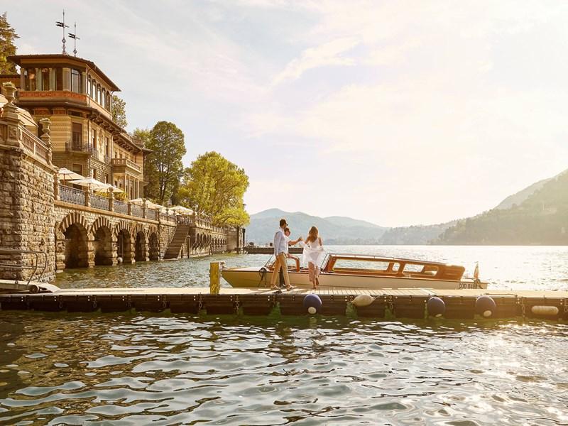 Séjour romantique au bord du lac de Côme