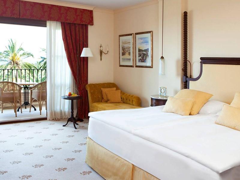 Deluxe Room de l'hôtel Castillo Son Vida à Majorque