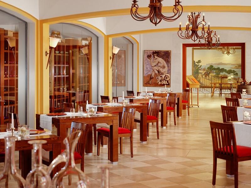 Restaurant Es Vi du Castillo Hotel situé aux Baléares