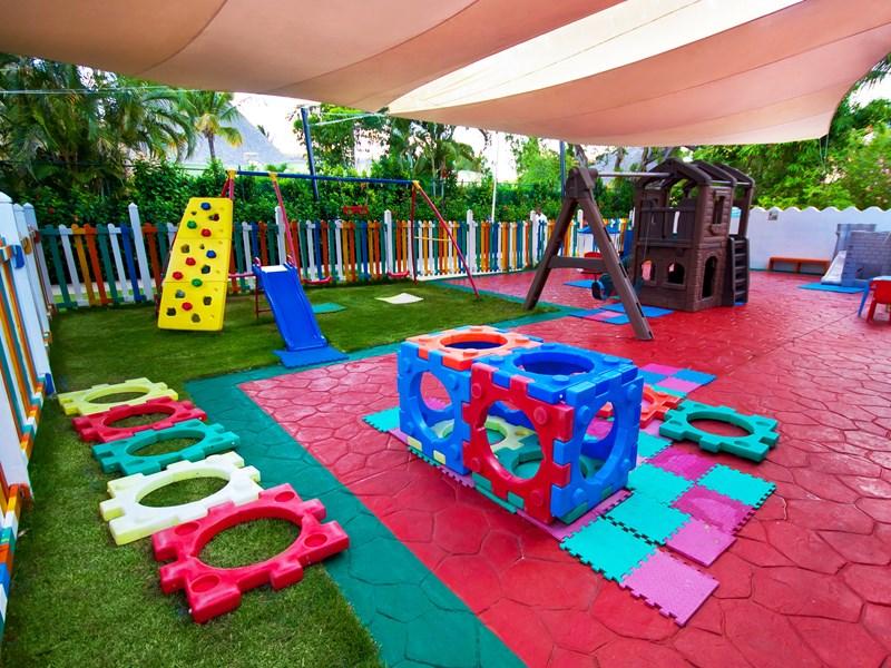 Espace de jeux pour les petits