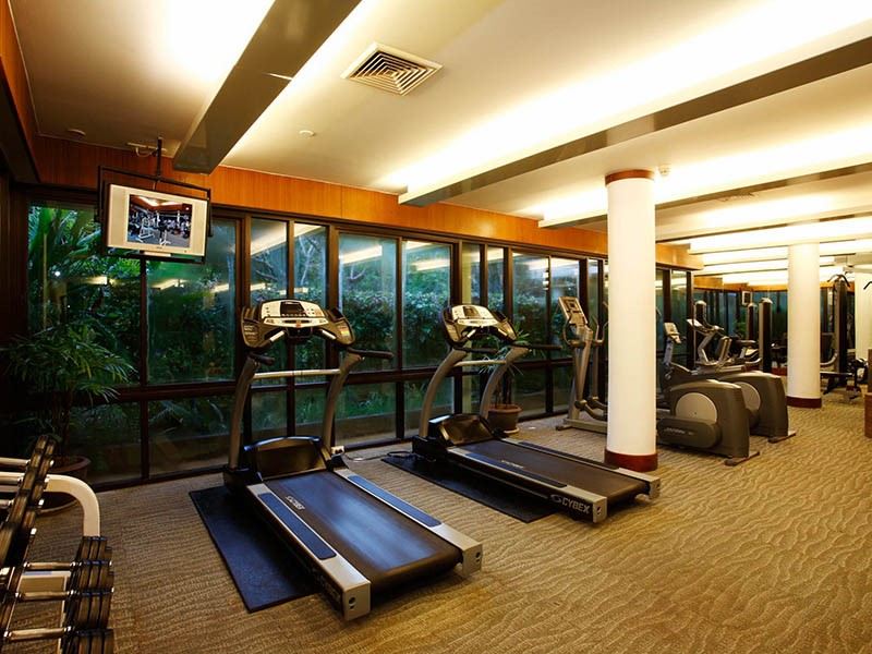 La salle de sport du Centara Grand Beach Resort & Villas Krabi
