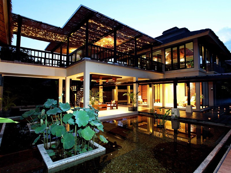 Vue du spa de l'hôtel Centara Tropicana situé en Thailande