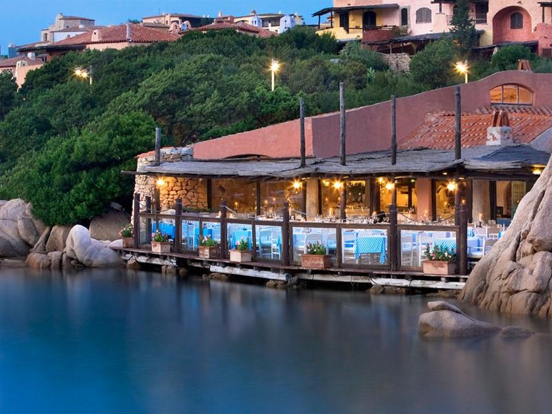 Autre vue du restaurant Il Pescatore du Cervo Hotel