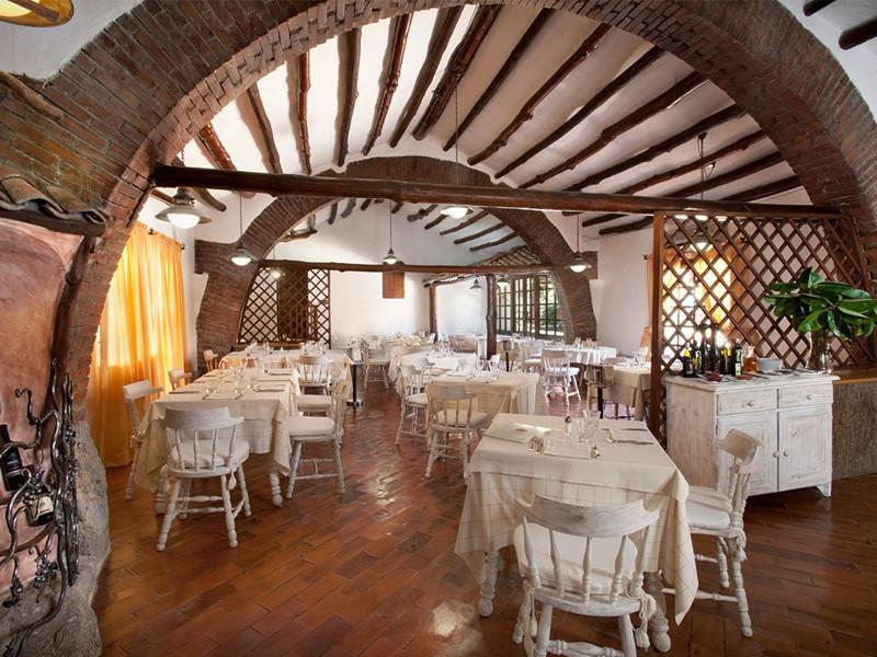 Restaurant Il Pomodoro de l'hôtel Cervo en Italie