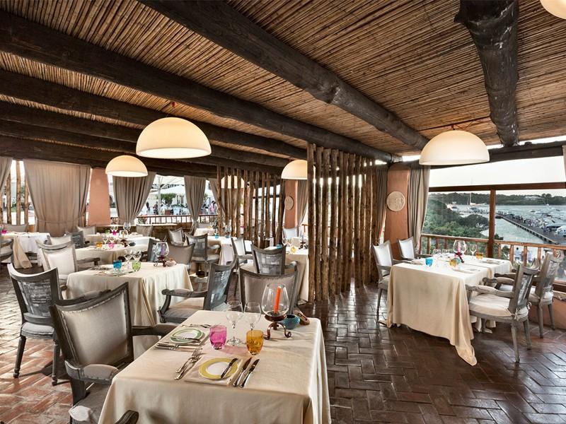 Restaurant La Pergola du Cervo Hotel en Italie