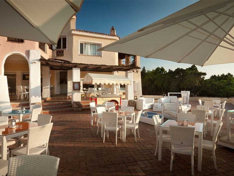 Cafe Sole du Cervo Hotel, Costa Smeralda Resort