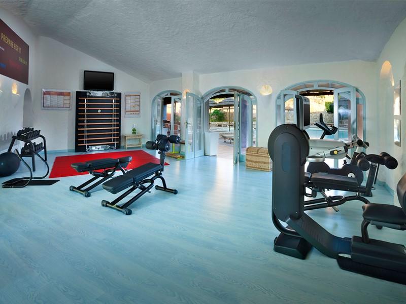 La salle de sport du Cervo Costa Smeralda Resort