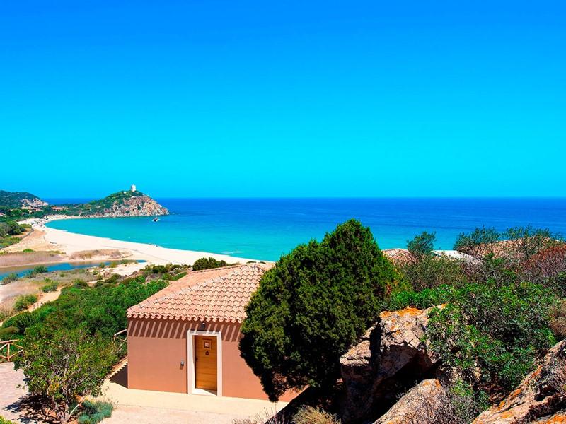 Vue sublime sur la mer méditerranée