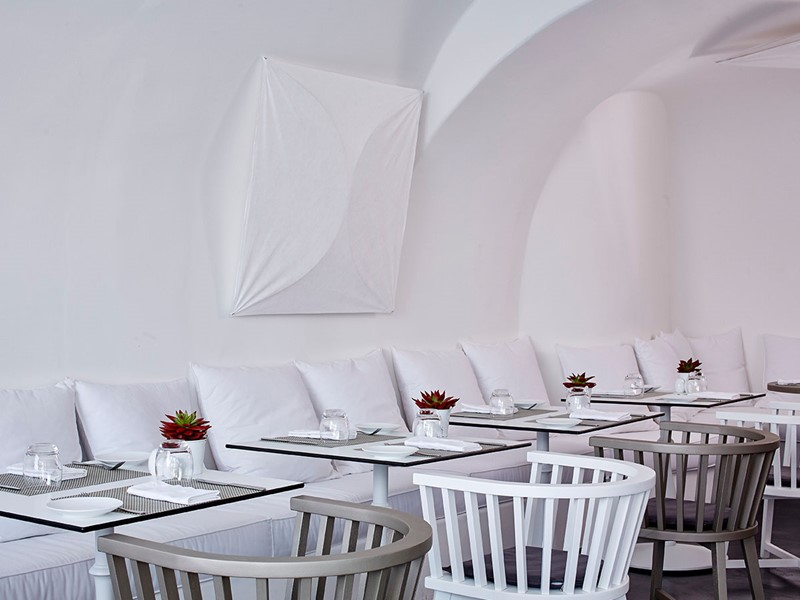 Le restaurant CHROMA Up Style Dining du Chromata