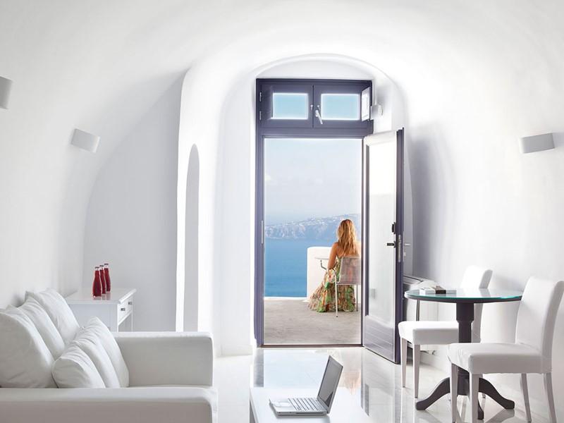 Suite Senior du Chromata Santorin en Grèce