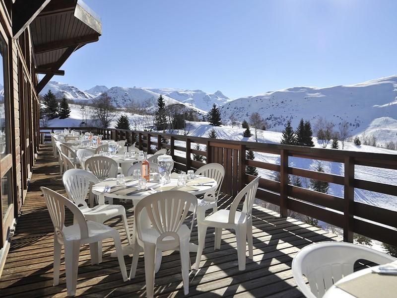 Le restaurant principal du Club Med Alpe d'Huez La Sarenne