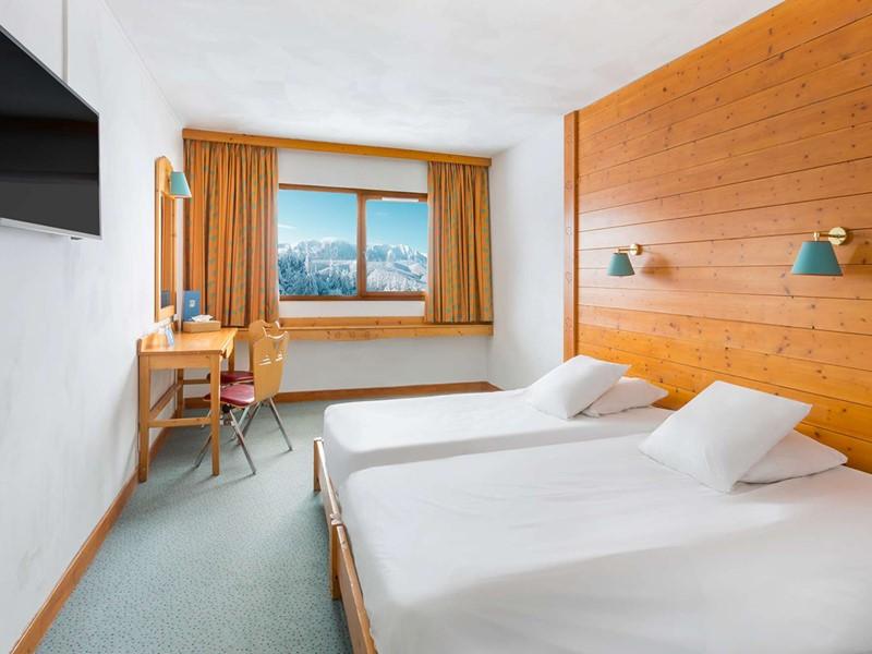 Chambre Club du Club Med Alpe d'Huez La Sarenne