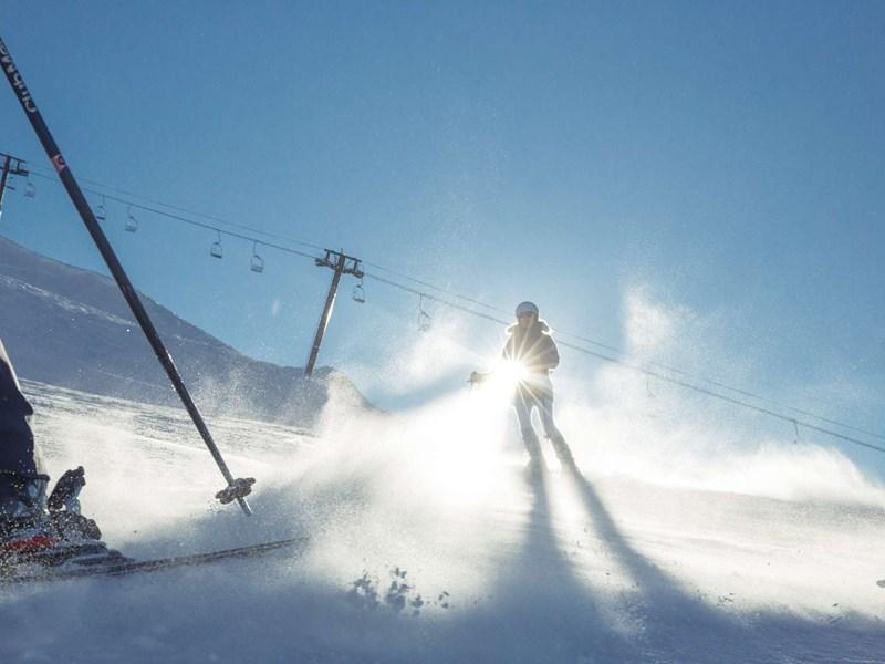 Profitez des pistes de ski