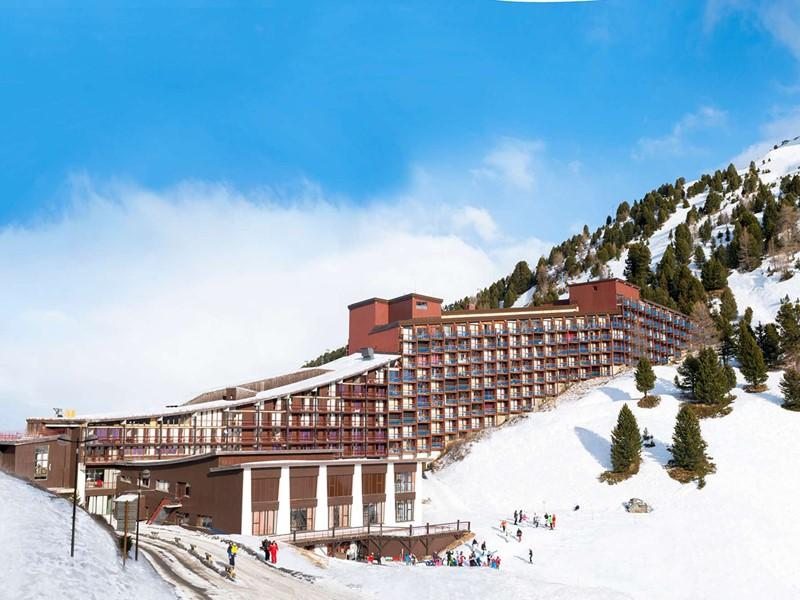 Vue du Club Med Arcs Extrême situé en Savoie