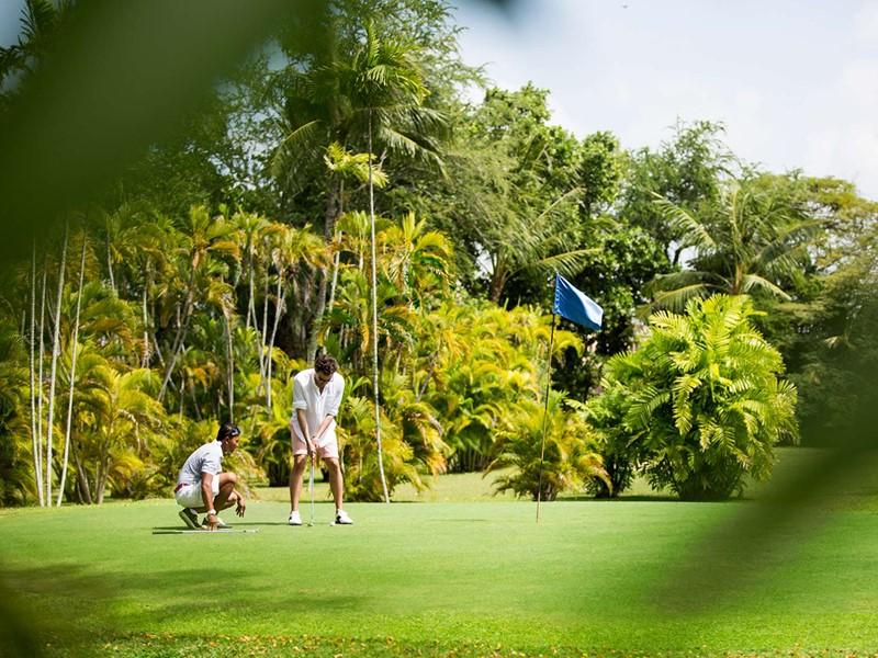 Cours de golf