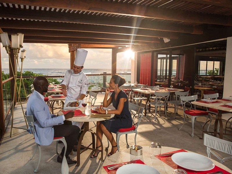 Le restaurant Argentin The Estancia du Club Med