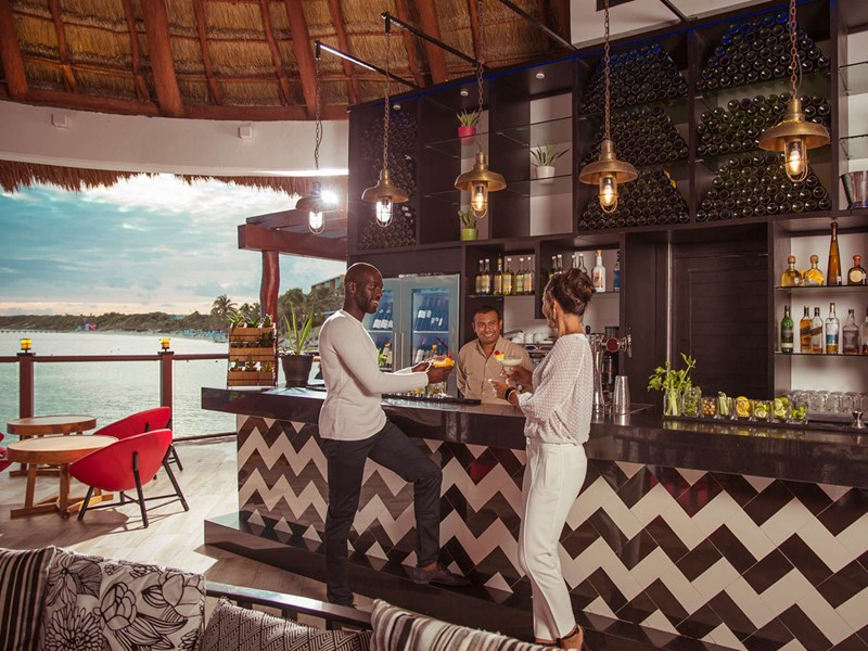 Le Taco Arte Bar du Club Med Yucatan au Mexique